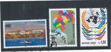 UNO Genf: postfr. FM-Spitzenwert zu 5 SFranken von 1990 u.a.