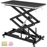 Tavolo per Toelettatura Elettronico Nero Professionali Grooming Table Durevoli