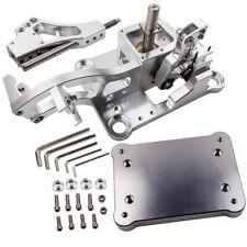 Billet Aluminium Shifter Box + Plate For Acura RSX K Swap K-Series K20 K24