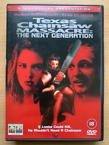 Texas Chainsaw Massacre the Next Generation DVD Horror w/ Matthew McConaughey