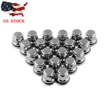 20 Chrome 12x1.5 Wheel Lug Nuts Mag Seat Washer for Lexus Scion Toyota Camry US