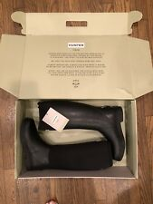 Hunter Balmoral Stretch (New In Box) with 2 Boot Socks (New w/o Tag) Size 7
