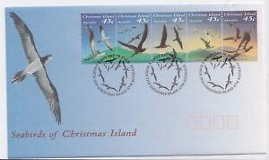 Christmas Island 1993 Seabirds (SG 372a)  FDC