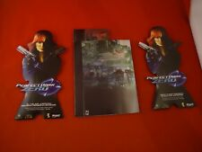 Perfect Dark Zero Xbox 360 Promotional Store Display Original Promo Display RARE