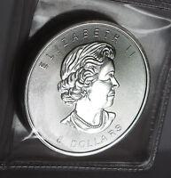 2015 QUEEN ELIZABETH II BUFFALO $8 SERIES .999 FINE SILVER 1.25 TROY OZ