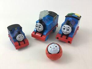 Thomas The Train and Friends 4pc Lot Talking Light up Motorized Thomas Mattel