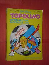 WALT DISNEY- TOPOLINO libretto- n° 966 b - originale mondadori- anni 60/70