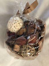 Fragrant Brown White Tan Parfum Potpourri Figurine Balls Seeds & Shapes