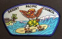 MERGED OA TIWAHE LODGE 45 BSA DESERT PACIFIC COUNCIL FLAP NOAC 2002 SURFING CSP