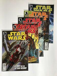Star Wars: DAWN OF THE JEDI - PRISONER BOGAN (5) Issue #1 2 3 4 5 Comic SET
