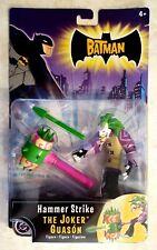 Batman The Joker Action Figure with Hammer Strike The Animated Series Cartoon