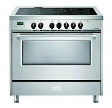 "Verona Designer Vdfsee365Ss 36"" Electric Range Oven Stainless Black Knobs"