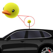 1x Yellow Cute Duck Car Antenna Ball Pen Topper Aerial Ball Decoration Gift Toy