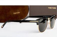 TOM FORD Occhiali da sole nuovi tf248 Unisex occhiali da sole neri Telaio Con Scatola