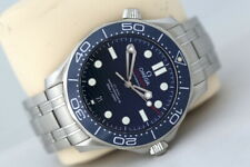 Omega Seamaster 42mm Co-Axial Automatic Watch - Blue Ceramic Bezel (2019)