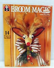 Broom Magic 14 Designs Craft Pattern Booklet #3020 Holidays Fall Christmas Decor