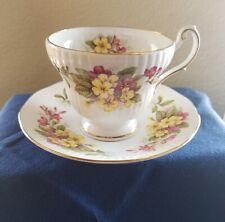 Queen's 'Wild Flowers' Bone China Tea Cup & Saucer Rosina China Co. Ltd