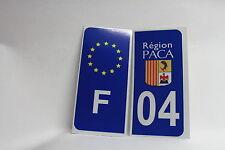 LOT 2 stickers REFLECHISSANT F+département 04