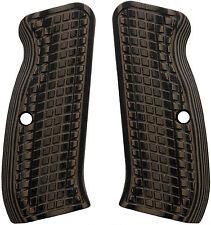 CZ 75 Compact Grenade Brown/Black G10 - LOK Grips