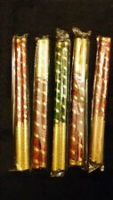Dandiya Sticks – 5 Pair Wooden Multicolour Navratri Dandiya Sticks New