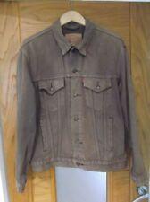 "Mens Vintage LEVIS 70503 02 Brown ""Red Tab"" Denim Trucker Jacket. Large.(XL)"