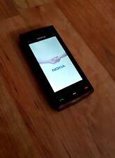 Nokia x6-00 - 16 GB-negro/rojo