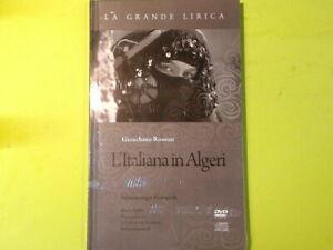 L'ITALIANA IN ALGERI GIOACCHINO ROSSINI LA GRANDE LIRICA LIBRO DVD COMPACT DISC