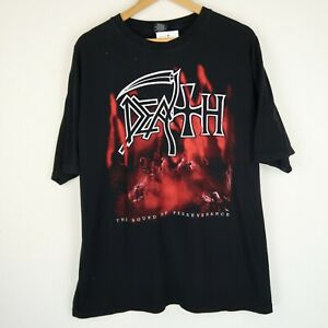 DEATH Sound Of Perserverance Retro metal band rock t-shirt SZ XXL (G193)
