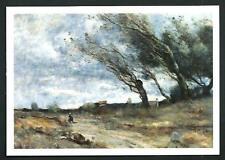 Corot : Colpo di vento - cartolina realizzata per una Mostra nel 2009