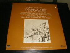 Jaap Schroeder Baroque Violin SEON 2-Lp Mozart Concertos Brueggen Schroder