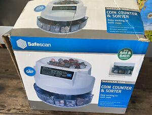 Safescan 1200 Coin Sorter - GBP Coins -Tested