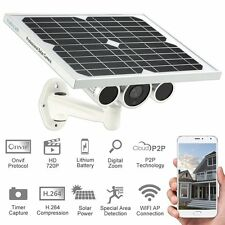 Solar Power 3G 4G WiFi IP Camera Onvif Battery 720P HD P2P Wireless CCTV Network