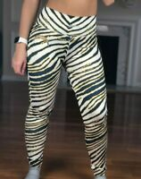 NFL Los Angeles Chargers Fitted Leggings Majestic Lightning Print, Women's S NWT