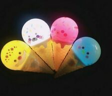 LED Light Up Ice Cream Animal Flashing Wands Toys Blinking Party Favors