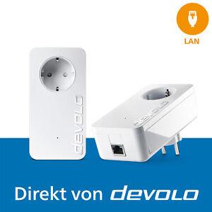 devolo dLAN 1200+, 2 Powerline Adapter, Internet aus der Steckdose, 1200 Mbps