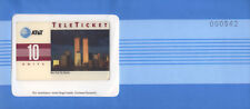 U.S.A. AT&T TELETICKET NEW YORK CITY SKYLINE 10 UNITS NUOVA IN BUSTA SIGILLATA