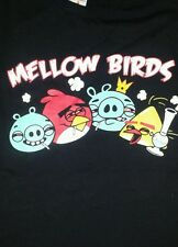 Mellow Birds Not So Angry 420 Stoner Funny Shirt Size Small Fast Shipping!
