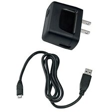 For MOTOROLA PHONES - OEM TRAVEL HOME WALL CHARGER AC POWER ADAPTER w USB CABLE
