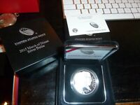 2015 March of Dimes Uncirculated Silver Dollar with OGP
