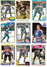 1980-81 OPC # 289 MARK MESSIER ROOKIE LOT (25) a