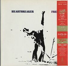 Free - Heartbreaker JAPAN LP with OBI/LYRIC SHEET