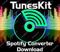 Tuneskit Spotify Music Converter Software for Windows XP, Vista,7,8,10 Download