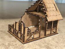28mm Fantasy Tudor Style Small House T4A Ruin