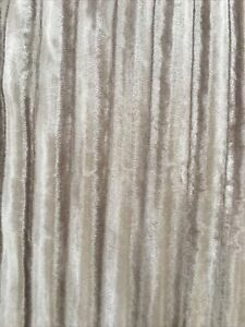 """KYLIE MINOGUE ILIANA EYLET FULLY LINED CURTAINS 90"""" WIDTH X 90"""" DROP IN PRALINE"""
