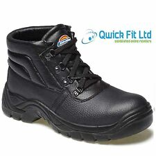 MENS DICKIES REDLAND SAFETY STEEL TOE CAP LADIES BOOTS WORK SHOES SIZES 3-14 UK