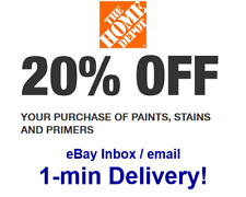 One x Home Depot 20% OFFCoupon  Paint&Stain (In-Store-Only) SUPER-FAST-Delivery