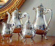 CHRISTOFLE silver plated Coffee/Tea set 4 Pcs *Excellent condition*