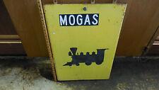ORIGINAL MOGAS FRONT LOCKING PANEL OFF GAS PUMP [TRAIN ENGINE ON FRONT]