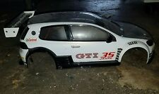 CUSTOM RC TAMIYA 1/10 VW GOLF24 TOURING DRIFT BODY SHELL,  HPI SPRINT 2  MST