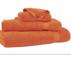 NWT Ralph Lauren Towels Orange Coral Cotton Bath Hand Wash Cloth Choose Set